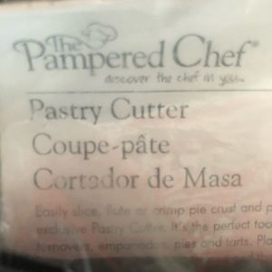 Pampered Chef Pastry Cutter